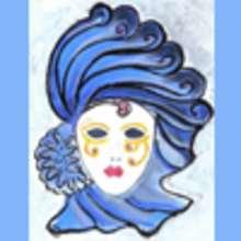 La princesse Carlotta et son masque.