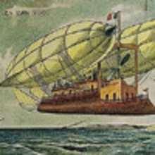 Histoire : Le navire volant