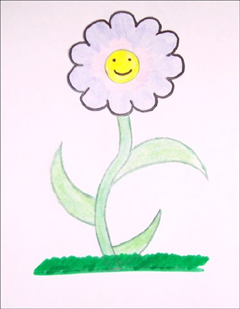 Fleur du Printemps - Dessiner Pâques