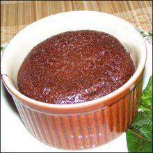 Repas de Pâques et recette des fondants au chocolat.