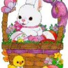 Images animées pour la fête de Pâques