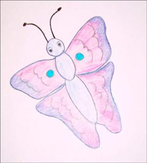 Comment dessiner papillon du printemps - Dessin petit papillon ...