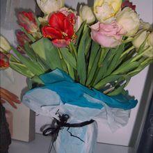Vase à fleurs - Activités - BRICOLAGE FETES - BRICOLAGE FETE DU PRINTEMPS