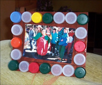 Berühmt Activités manuelles le cadre photo récup - fr.hellokids.com UW54