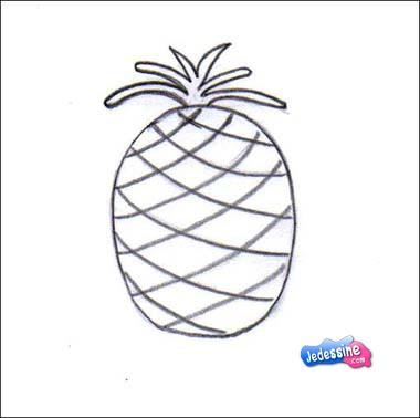 Comment Dessiner Dessiner Un Ananas Frhellokidscom