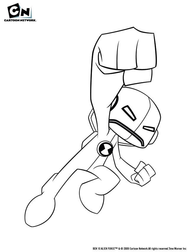 Desenho Para Colorir Do Ben 10 Supremo