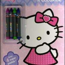 Livre : Histoires à colorier Hello Kitty