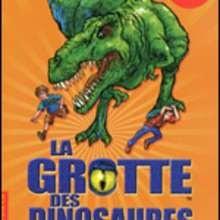 Livre : La grotte des dinosaures: l'attaque du T-Rex