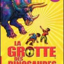 Livre : La grotte des dinosaures: la charge des tricératops