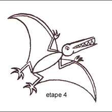 Tuto de dessin : Le Ptérodactyle