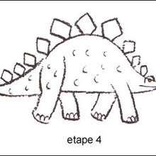 Tuto de dessin : Le Stégosaure