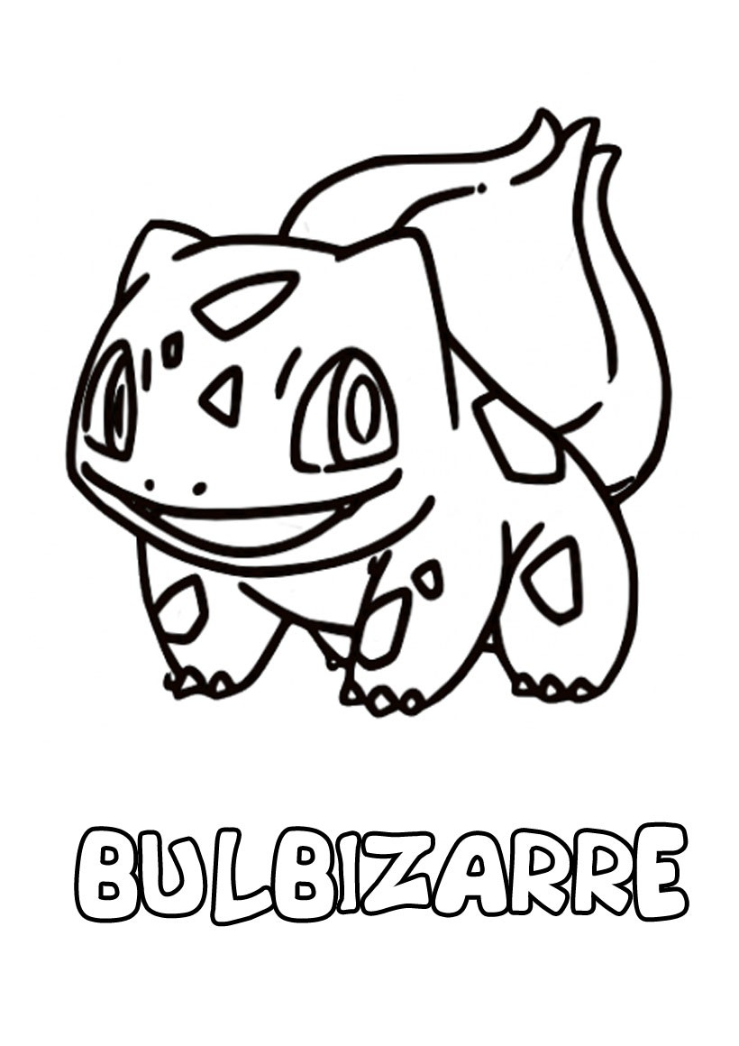 Coloriage : Bulbizarre