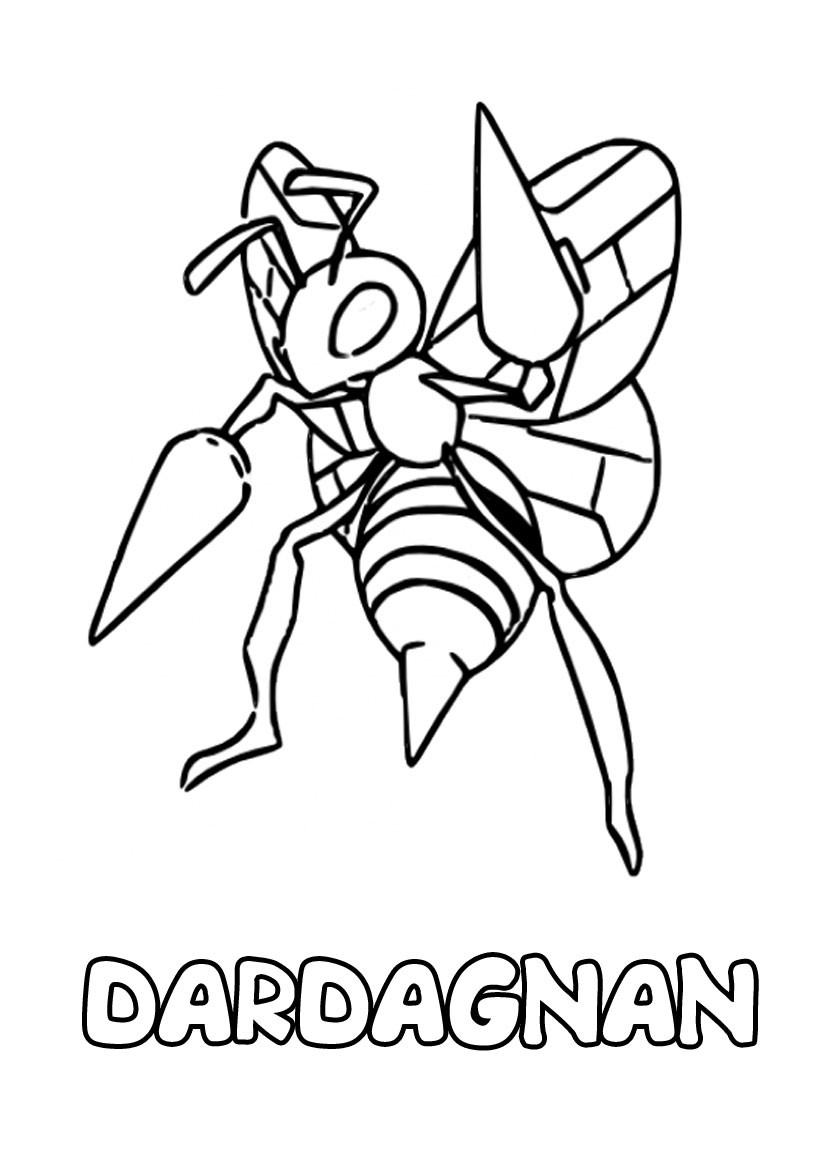 Coloriages dardargnan - Coloriage pokemon en ligne ...