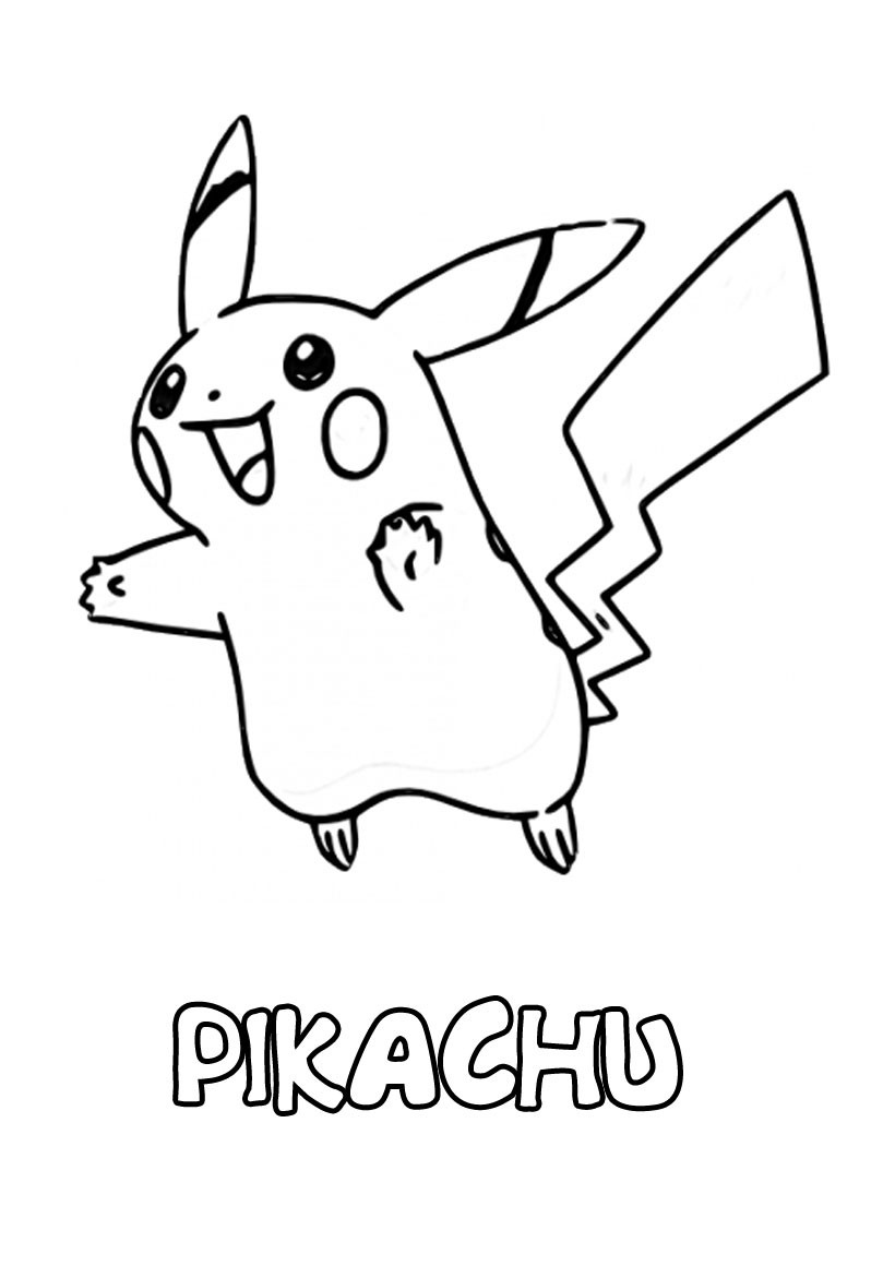 coloriages pikachu imprimer. Black Bedroom Furniture Sets. Home Design Ideas