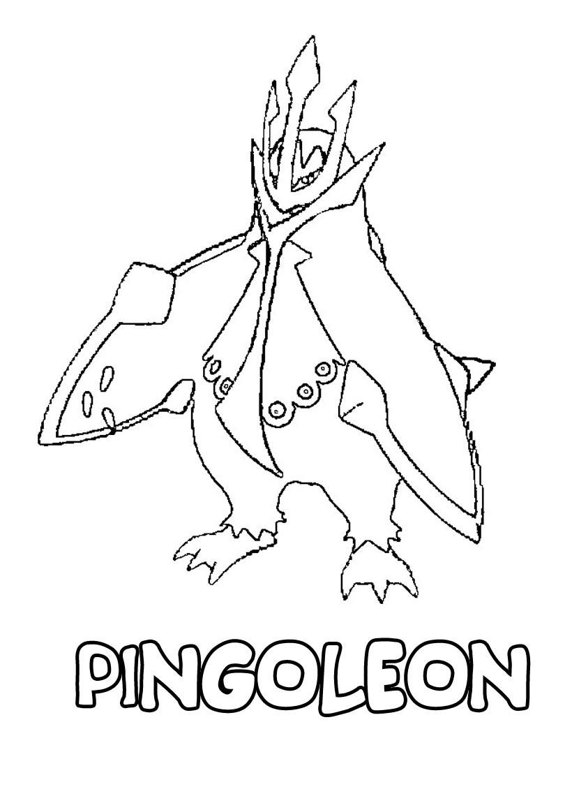 Coloriages pingoleon - Coloriage pokemon imprimer ...