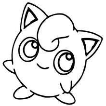 Coloriage en ligne Pokemon Rondoudou