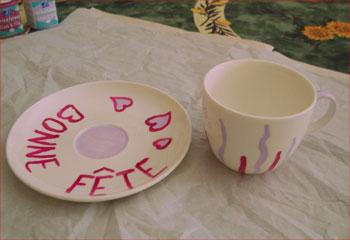 La tasse à café Bonne fête ! - Activités - BRICOLAGE DECO