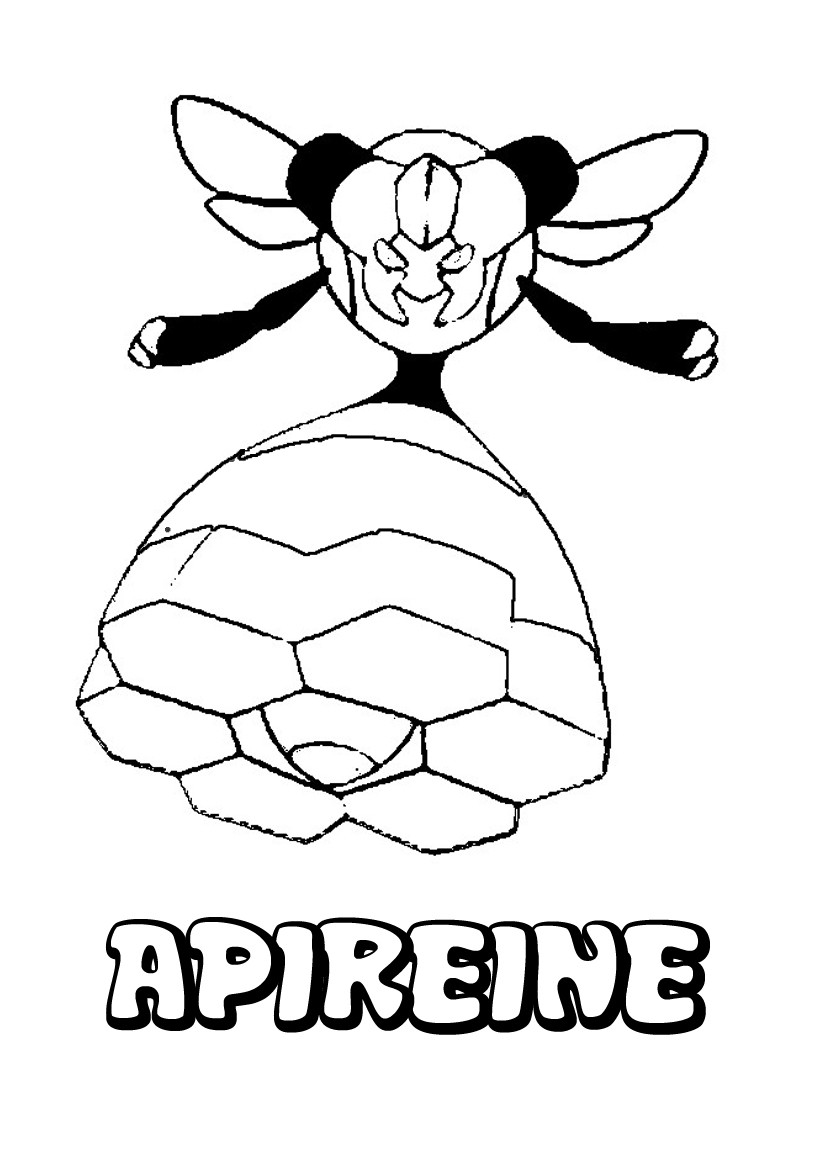 Coloriages apireine - Coloriage pokemon en ligne ...
