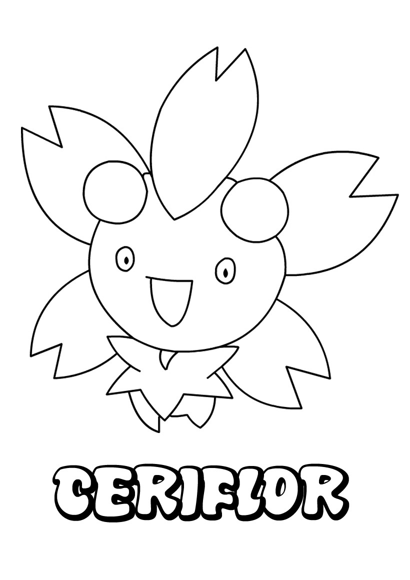Coloriages ceriflor - Coloriage pokemon en ligne ...