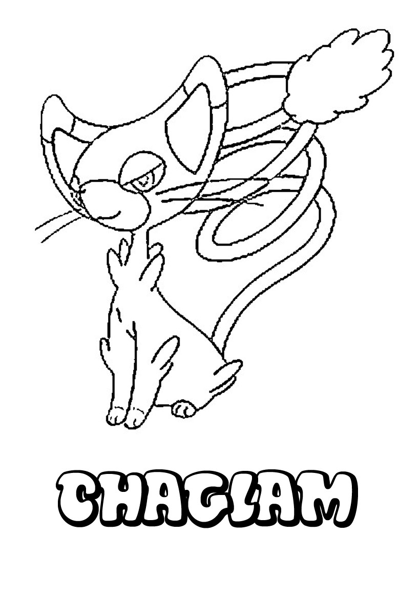 Coloriages chaglam - Coloriage pokemon en ligne ...