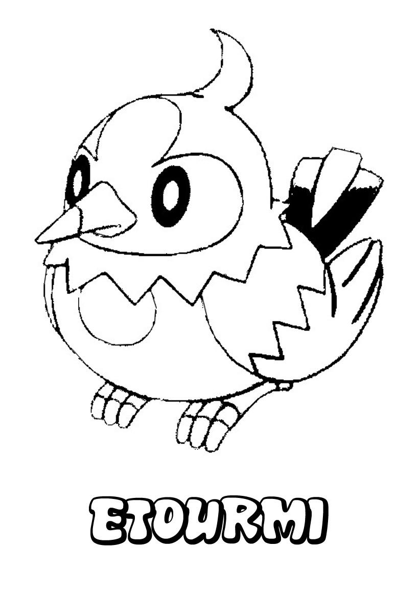 Coloriages etourmi - Coloriage pokemon en ligne ...