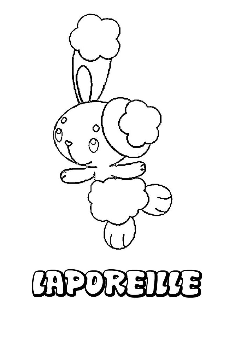 Coloriages laporeille - Coloriage pokemon en ligne ...