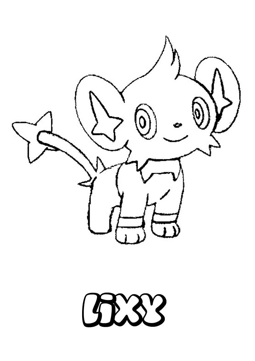 Coloriages lixy - Coloriage de pokemon a imprimer ...