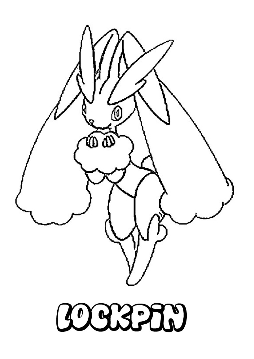 Coloriages lockpin - Coloriage pokemon en ligne ...