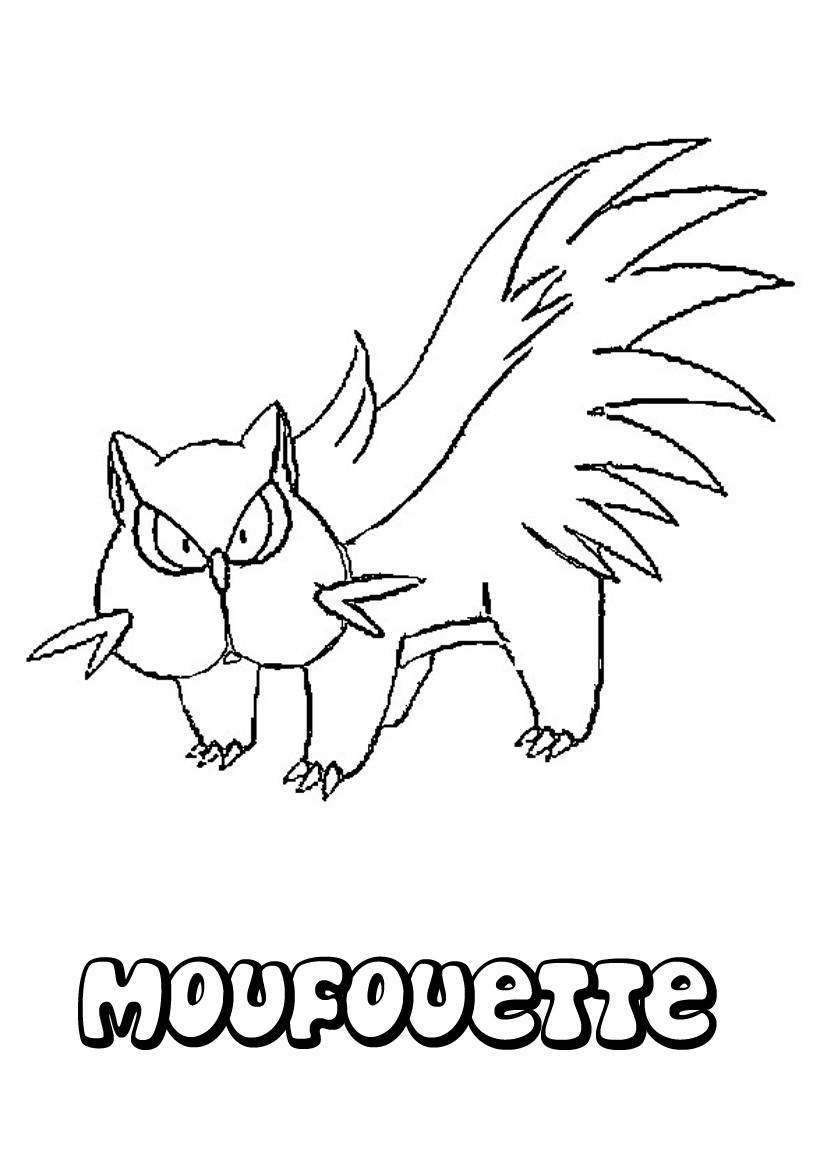 Coloriages moufouette - Coloriage pokemon en ligne ...