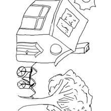 La maison écologique - Activités - BRICOLAGE ENFANT - Bricolage Ecolo avec Tipi-Kiwi - Les coloriages de Tipi-Kiwi