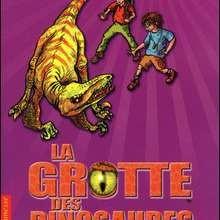 Livre : La grotte des dinosaures: la poursuite du Vélociraptor