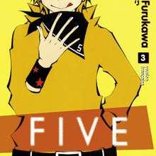 FIVE 3 - Lecture - BD pour enfant - Spécial Mangas
