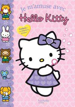 Livre : Je m'amuse avec Hello Kitty