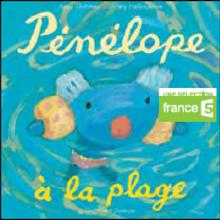 Livre : Penelope à la plage