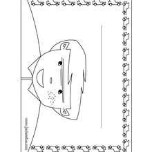 Coloriage de la pancarte : Chambre de garcon - Coloriage - Coloriage GRATUIT - Coloriage GRATUIT PANNEAUX DE PORTE