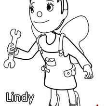 Coloriage de Lindy n°1