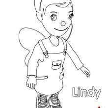 Coloriage de Lindy n°2
