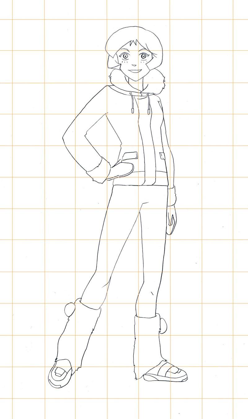 Comment dessiner dessine alex fashion - Comment dessiner les totally spies ...