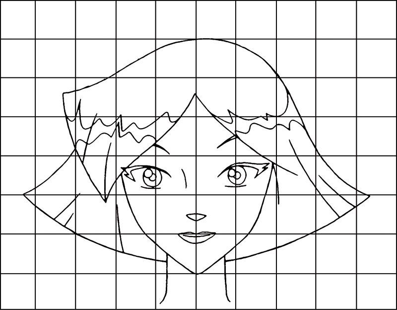 Comment dessiner dessine le visage de clover fr - Comment dessiner les totally spies ...