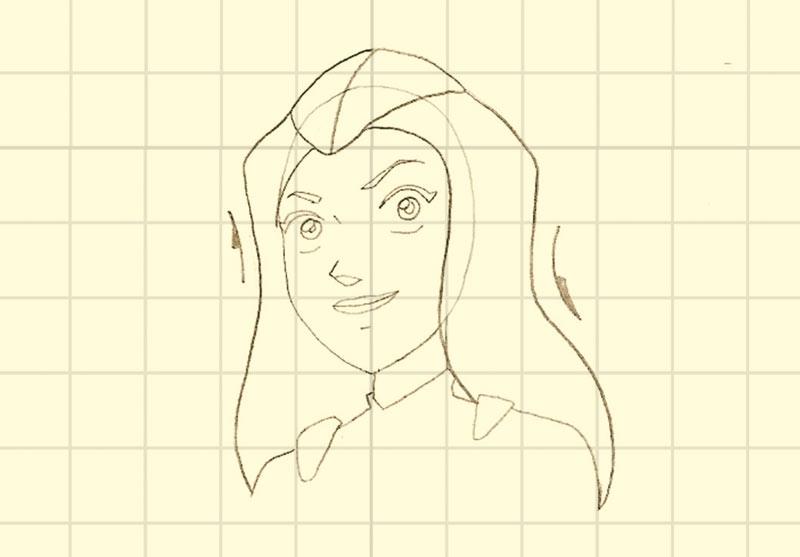 Comment dessiner dessine le visage de sam - Comment dessiner les totally spies ...