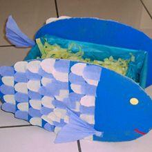 Fiche bricolage : Le poisson aux trésors