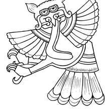 Hibou Aztèque