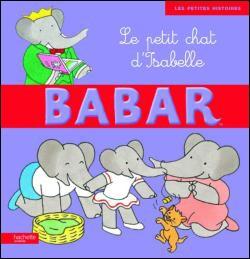 Livre : Babar - Le petit chat d'Isabelle