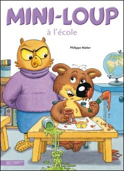 Contes pour enfants mini loup l 39 cole lire - Mini loup coloriage ...