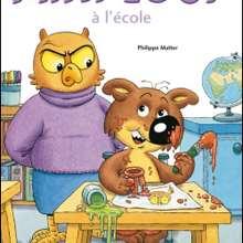 Livre : Mini-Loup à l'école