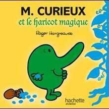Livre : Monsieur Curieux et le Haricot Magique
