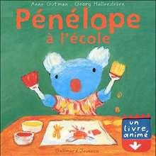 Livre : Pénélope à l'école
