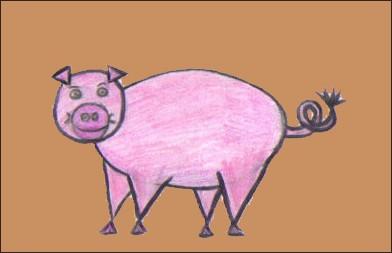 dessin-cochon