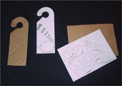 Bricolage deco panneau de porte pour ta chambre - Bricolage accroche porte ...