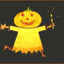 Dessine une citrouille - Dessin - Apprendre à dessiner - Dessiner des personnages d'Halloween